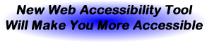 Atoall Web Accessibility Tool Message 1