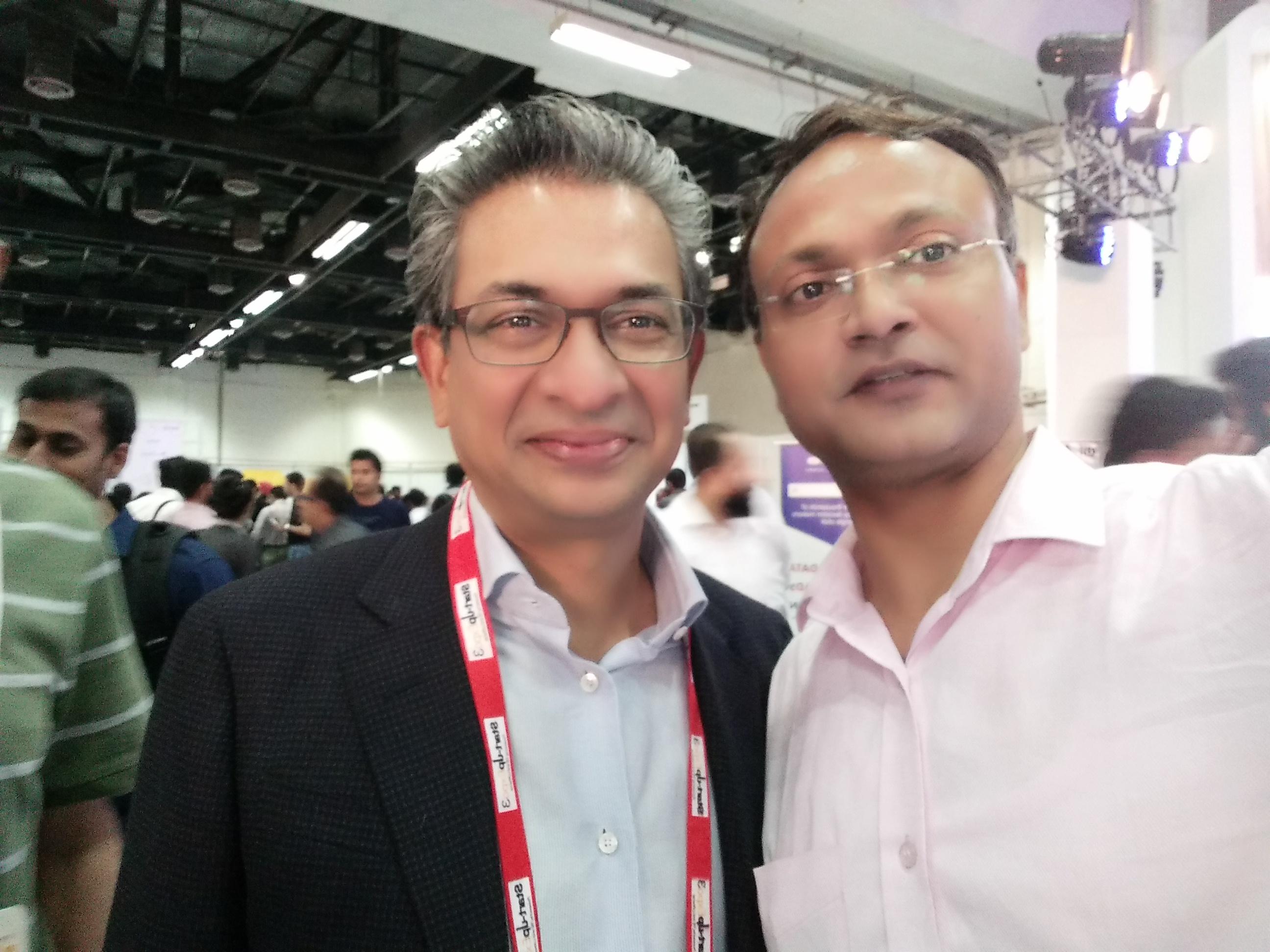 Sanjeev Kumar Atoall.com with Rajan Anandan Google.com for next Billion INTERNET Users